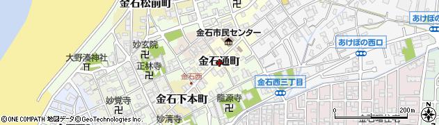石川県金沢市金石通町周辺の地図