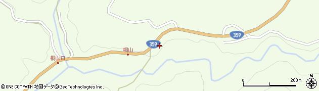 石川県金沢市桐山町周辺の地図