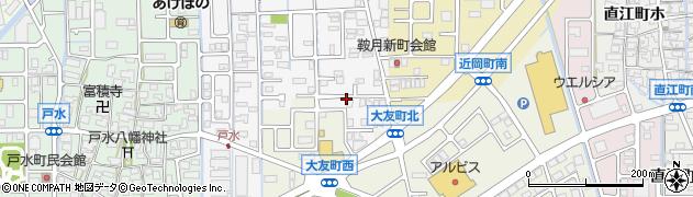 石川県金沢市大友町(ハ)周辺の地図
