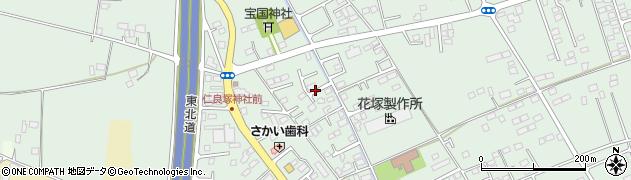 栃木県宇都宮市宝木本町周辺の地図