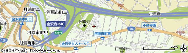 石川県金沢市河原市町(ロ)周辺の地図
