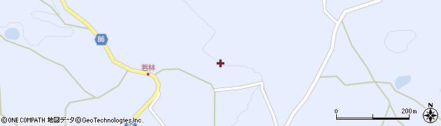 長野県長野市篠ノ井山布施(若林)周辺の地図