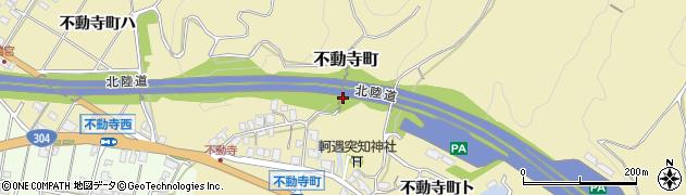 石川県金沢市不動寺町周辺の地図