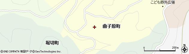 石川県金沢市曲子原町(ト)周辺の地図