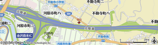石川県金沢市不動寺町(ロ)周辺の地図