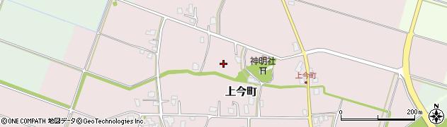 富山県富山市上今町周辺の地図