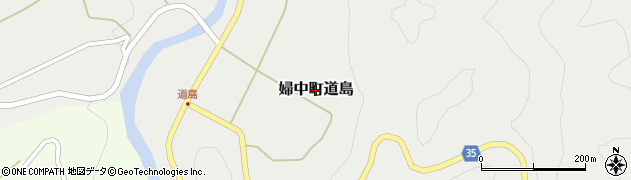 富山県富山市婦中町道島周辺の地図