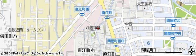 石川県金沢市直江町(ハ)周辺の地図
