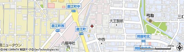 石川県金沢市直江町(ト)周辺の地図