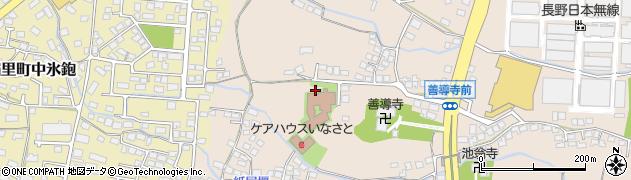 長野県長野市稲里町下氷鉋周辺の地図