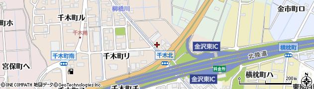 石川県金沢市千木町(ト)周辺の地図