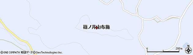 長野県長野市篠ノ井山布施周辺の地図