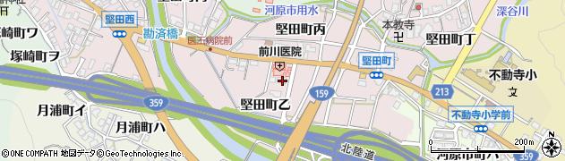 石川県金沢市堅田町(乙)周辺の地図
