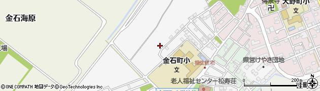石川県金沢市金石北周辺の地図
