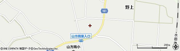 茨城県常陸大宮市野上周辺の地図