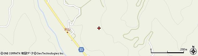 長野県大町市美麻(青具)周辺の地図