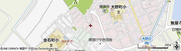 石川県金沢市大野町(4丁目カ)周辺の地図