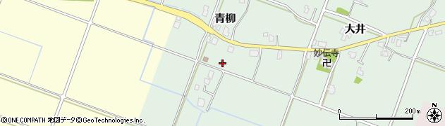 富山県富山市青柳周辺の地図