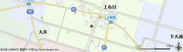 富山県富山市上布目周辺の地図