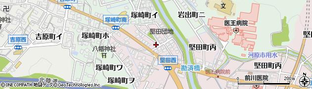 石川県金沢市堅田町(甲)周辺の地図