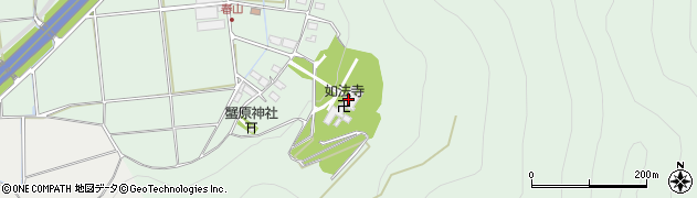 如法寺周辺の地図