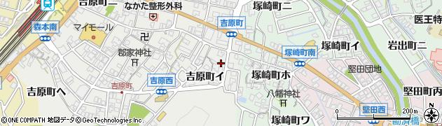 石川県金沢市吉原町(イ)周辺の地図