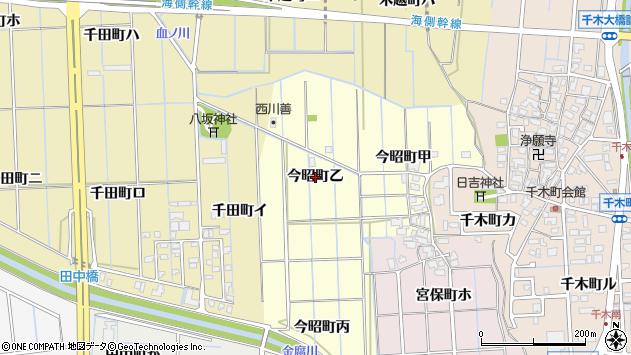 〒920-0008 石川県金沢市今昭町の地図