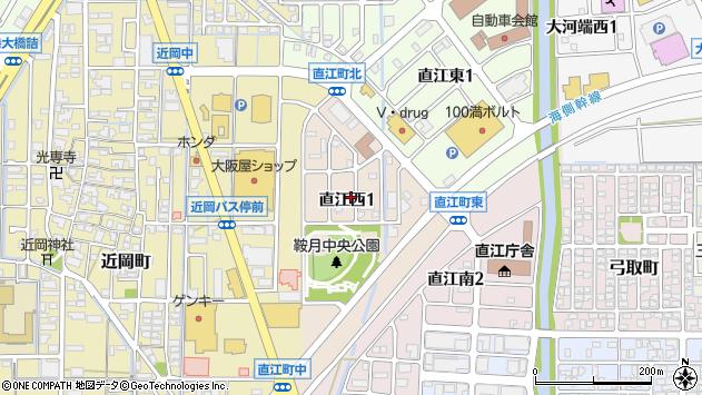 石川県金沢市直江西 郵便番号 〒920-8215:マピオン郵便番号