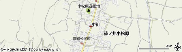 長野県長野市篠ノ井小松原(南組)周辺の地図
