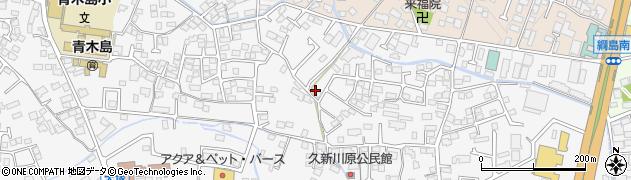 長野県長野市青木島町大塚周辺の地図