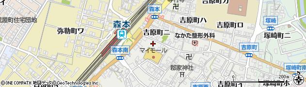 石川県金沢市吉原町(ホ)周辺の地図