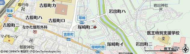 石川県金沢市塚崎町周辺の地図