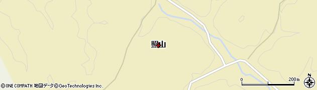 茨城県常陸大宮市照山周辺の地図