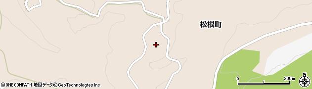 石川県金沢市松根町(チ)周辺の地図