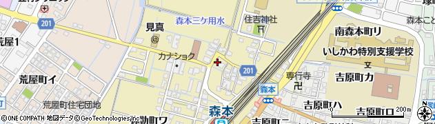 石川県金沢市弥勒町(カ)周辺の地図