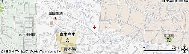 長野県長野市青木島町周辺の地図