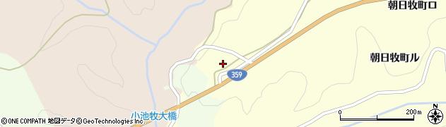 石川県金沢市朝日牧町(ニ)周辺の地図