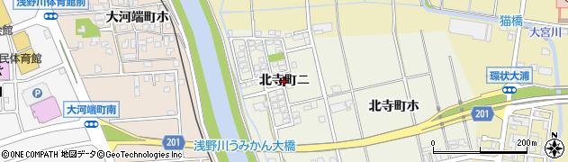 石川県金沢市北寺町(ニ)周辺の地図