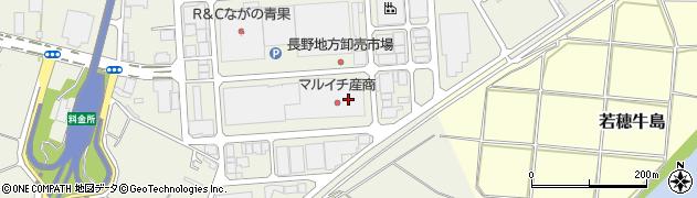 長野県長野市市場周辺の地図