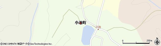 石川県金沢市小池町周辺の地図