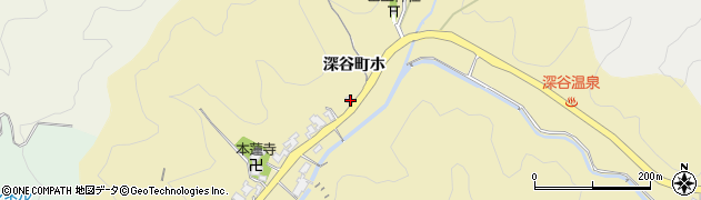 石川県金沢市深谷町(ホ)周辺の地図