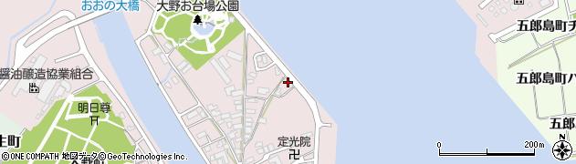 石川県金沢市大野町(4丁目ホ)周辺の地図