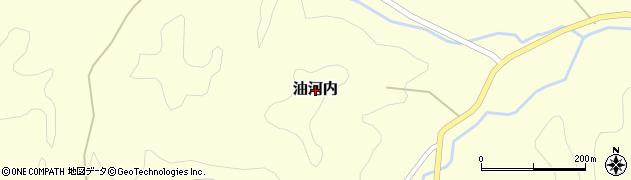 茨城県常陸大宮市油河内周辺の地図