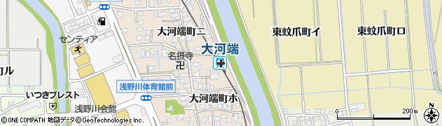 石川県金沢市周辺の地図