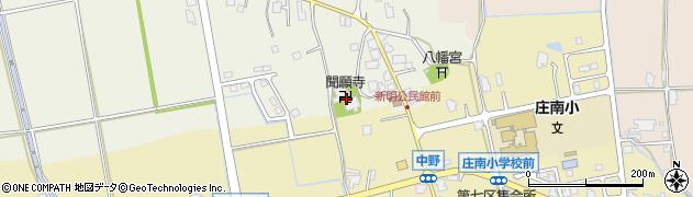 聞願寺周辺の地図