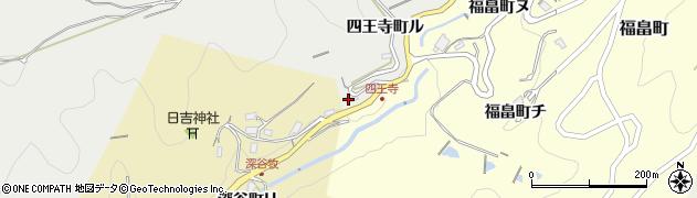 石川県金沢市四王寺町(ハ)周辺の地図