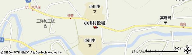 長野県上水内郡小川村周辺の地図