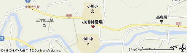 長野県小川村(上水内郡)周辺の地図