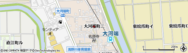 石川県金沢市大河端町(ニ)周辺の地図