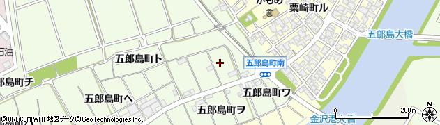 石川県金沢市五郎島町(リ)周辺の地図